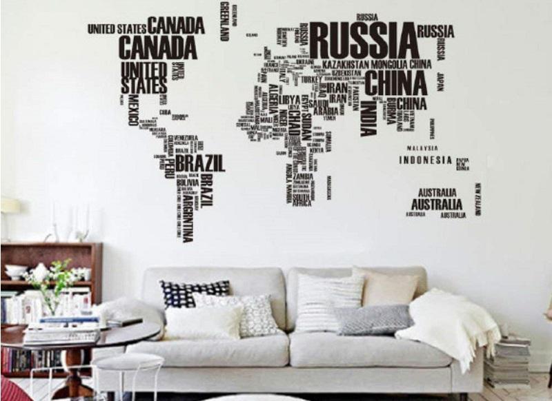 mapamundi letras nombres paises